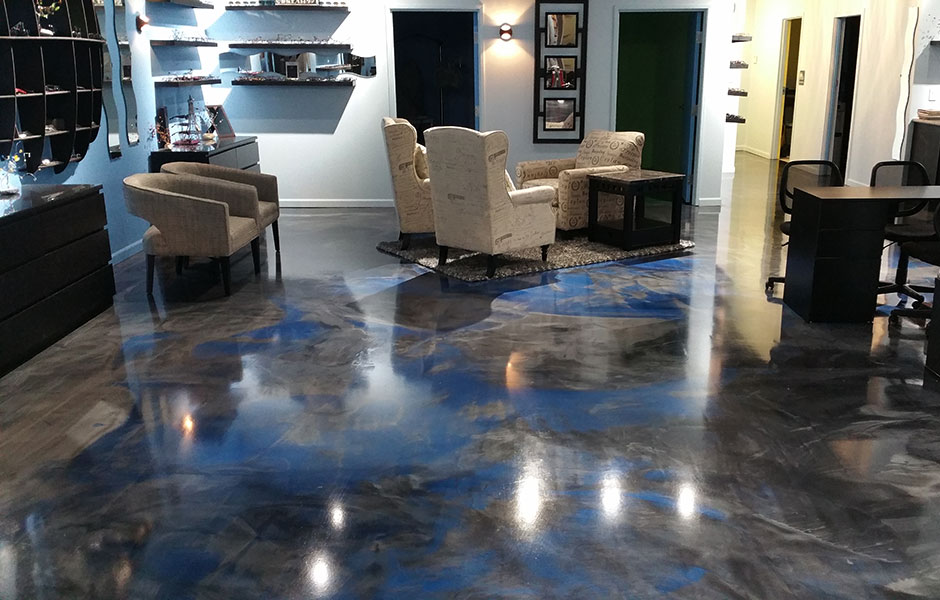 20/20 EyeVenue Decorative Concrete Epoxy Coating