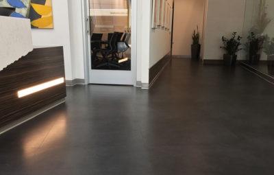 Microtopping Custom Concrete Prep & Polish