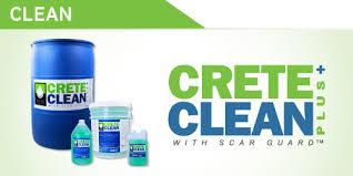 CreteClean with Scar Guard