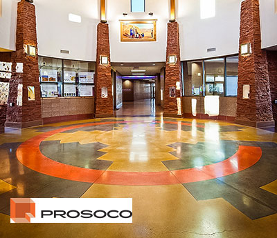 Consolideck Flooring System By Prosoco Custom Concrete