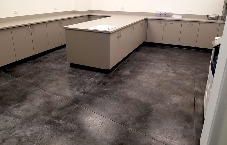 View Larger Image Charter Communications Stain And Seal Custom Concrete Prep Polish