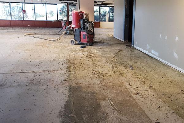 Concrete Floor Glue Removal Custom
